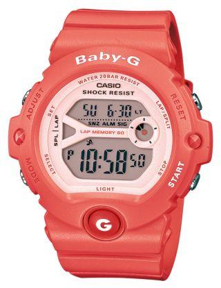 Casio Uhr Baby - G Digitaluhr Bg - 6903 - 4er Bild