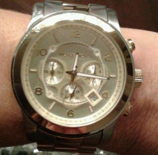Michael Kors Uhr Mk8098 Becolor Silber/gold Bild