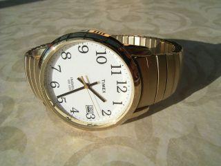 Timex Indiglo Wr30m Armbanduhr Für Damen Und Herren - Beleuchtet Bild