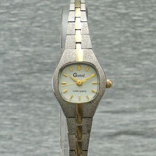 Damenuhr Garde Ruhla Quartz Elegant Bi - Color Damenarmbanduhr Quarzuhr Bild