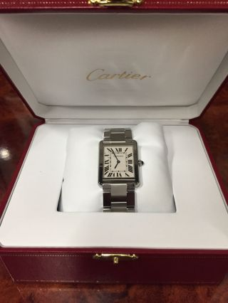 Cartier Tank Solo Ref: W5200014 Bild