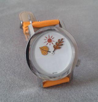 Akteo Armbanduhr Jahreszeiten Herbst Bild