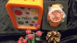 Damenuhr Orange Neowatch Bild