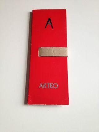 Akteo Weihnachtsuhr 1996 Limitiert Nr.  159 Von 1000 Bild