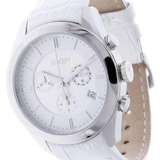 Joop Damenchronograph Aspire Jp101042f05 Weißes Lederarmband Silber, Bild