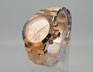 Michael Kors Mk5314 Damenuhr Armbanduhr Chronograph Edelstahl,  Rose Bild