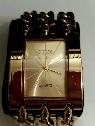Guess Damen Uhr Gold Bild