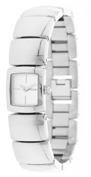 Dkny Donna Karan Damen Armbanduhr Silber Ny4485 Bild
