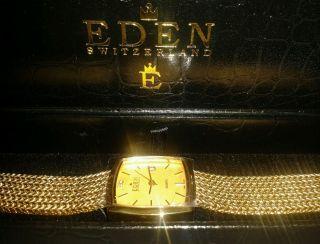 Armbanduhr Damen,  Von Eden,  In Farbe Gold Bild