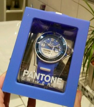 Armbanduhr Icewatch Pantone Universe Unisex Marina Blue Selten Bild