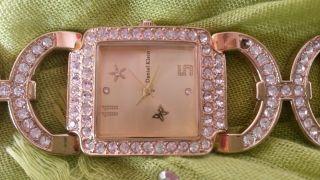 Damen Armbanduhr Daniel Klein - Vergoldet Mit Strass - Steinen Bild