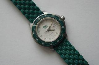 Lacoste Uhr 1000 L 15 Grün Damenuhr Quarzuhr Analoguhr Selten,  Top Bild