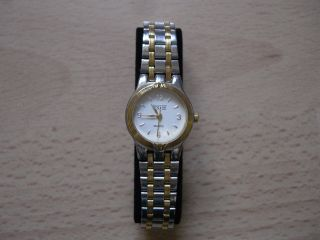 Bugor Uhr Armbanduhr Silber Gold Edelstahl MÄdchen Damen Gliederarmband Bild
