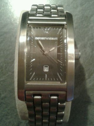 Armani Uhr Ar0113 Unisex Metallband Bild