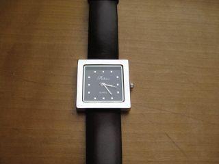 Armbanduhr Modisch Kunststoffarmband Dunkelbraun Neuwertig Bild