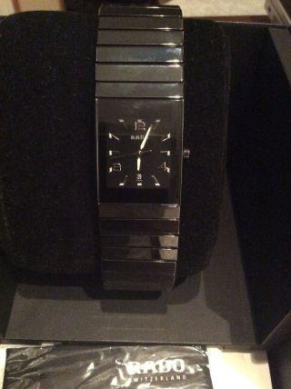 Rado Ceramica Armbanduhr Modell R21347192 Rechnung Von Christ Bild