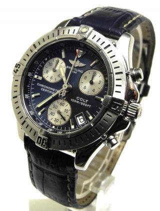 Breitling Colt Chronograph Sq Quartz Ref.  A73350 2003 Bild