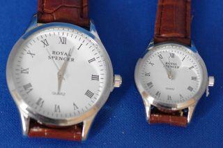 Partnerlook,  Klassische Armbanduhren,  Klein Und Groß,  Rolf Cremer Bild