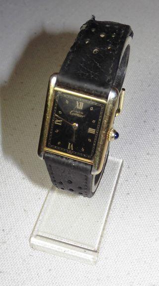 Cartier Tank Damenarmbanduhr Bild