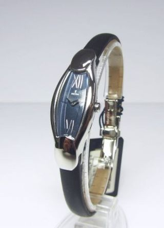Festina Damenuhr Dau Quarz Stahl An Lederband Ref.  F16191/6 Ovp Ungetragen Bild