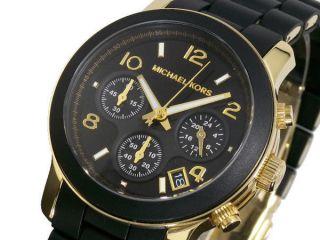 Michael Kors Runway Damen Armbanduhr Mk5191 Chronograph Pu - Beschichtung Uhrband Bild