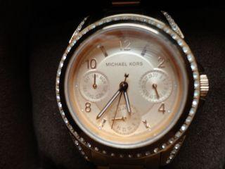 Michael Kors Armbanduhr Für Damen Rotgold Bild