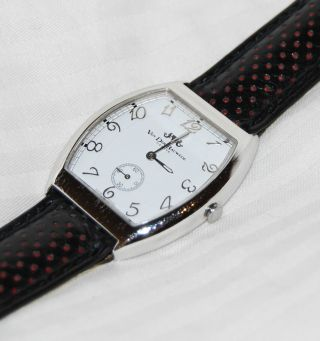 Van Der Bauwede Big Legend Silver 800 Swiss Made Watch Uhr - Bild