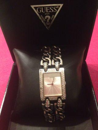 Guess,  Armbanduhr,  Silber, Bild