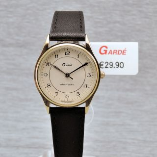 Damenuhr Garde Ruhla Quarz Präzisa 8 - 8 Damenarmbanduhr Mit Lederband Quarzuhr Bild