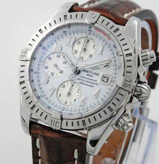 Breitling Chronomat Evolution A13356 Stahl Mit Box Und Papieren Herren Bild