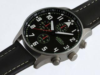N4l,  42mm,  Astroavia,  Chronograph,  Flieger Uhr,  Pilot,  Military Chronograph Bild