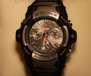 Casio G - Shock Gs - 1100 - 1aer,  Funk,  Solar,  Top Bild