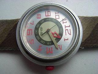 Kinder Armbanduhr Flik - Flak Swiss Militär Design Bild
