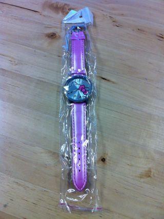 Hello Kitty Uhr Rosa Mit Strass - Kinder - Mädchen - Damen Bild