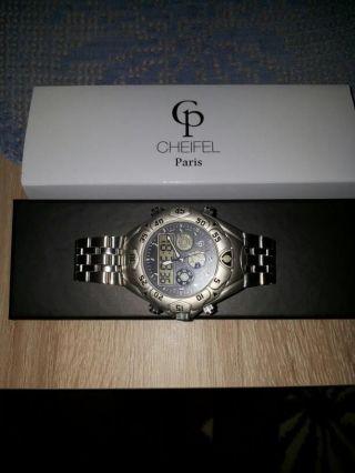 Armbanduhr Cheifel Paris - Chronograph Mit 4 Lcd - Anzeigen, Bild