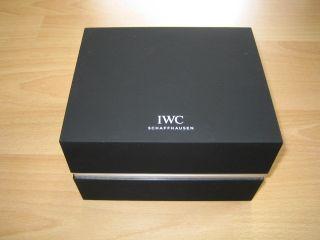 Iwc Uhrenbox Box Watchbox Bild
