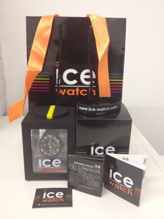Ice Watch Bvb Uhr Schwarz Small Oe.  Bvb.  Bk.  S.  S.  Geschenkset Bild