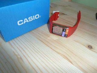 Casio Uhr Digital Rot Bild