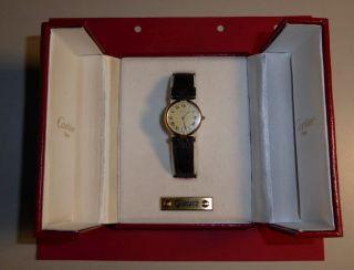 Damen Armbanduhr Quartz – Must De Cartier Bild