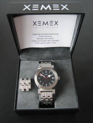 Xemex - Offroad - Stahl Mit Saphirglas - Box Und Anleitung Bild
