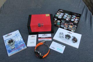 Tissot T - Race Chronograph (t048.  417.  27.  057.  04) - Ungetragen - Wie Bild