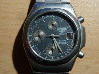 Armbanduhr Heuer Titanium Quartz Chronograph Bild