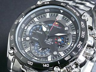 Herrenuhr Watch - Casio Edifice Red Bull Ef - 550rbsp - 1av Bild