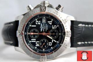Breitling Avenger Chronograph 45mm Ref:13380 Kalbb.  Mit Faltschließe Bild