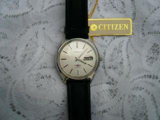 Citizen Herren Automatik Uhr,  21 Jewels,  Sehr Schicke Uhr Mit Etikett,  Selten Bild