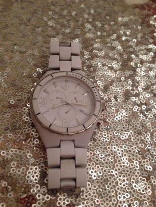 Sportliche Adidas Armbanduhr Weiß Uhr Silber White Winter Unisex Bild