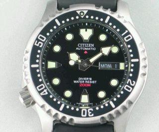 Citizen Promaster Marine (ny0040 - 09ee) / Mit / With Bild