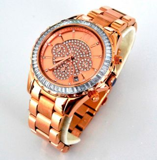 Michael Kors Mk5811 Madison 449€ Damenuhr Rose Gold Chrono Bild