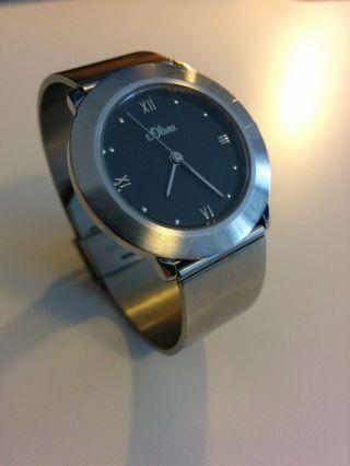 S.  Oliver Armband Uhr Edelstahl Bild