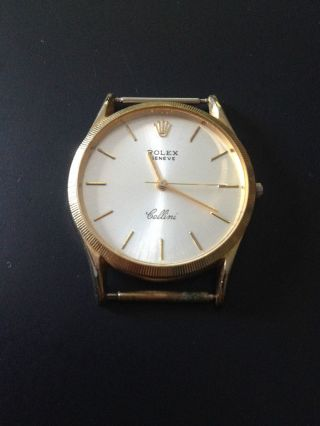 Rolex Cellini Gold Bild